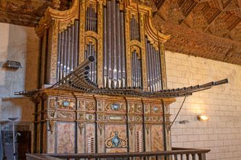 órgano de la iglesia de Cardenete